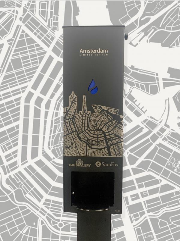 Sanifox amsterdam dispenser